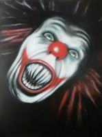 Pennywise the Dancing Clown by Airbrush-Ninja