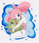 ChibiUsa and Pelu by SoVeryUnofficial
