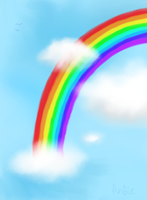 Only Rainbows After Rain by Angiebutt