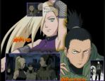 Shikamaru and Ino by Rin4