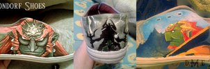 Ganondorf Shoes - sneaky peek by tavington