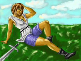 Aleena after practice * Color by XantheStar