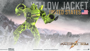 Pacific Rim: Yellow Jacket by WyvernsBlade