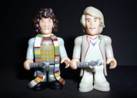 CB 4th and 5th Doctors by CyberDrone
