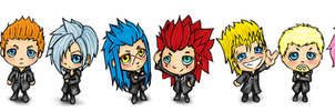 Mini Organization XIII by cold-nostalgia