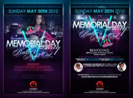Memorial Day Flyer by toxxic817