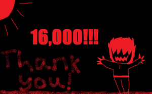 16,000 Page Views by Blackironalchemist