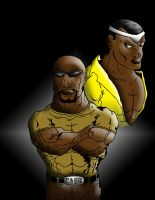 Luke Cage a.k.a Power Man by zulu94
