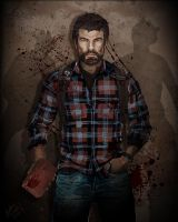 Joel - The Last of Us by ARCrebs