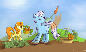 Background Pony of the Week 34 by bluemeganium