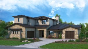 Large Home Rendering by zodevdesign