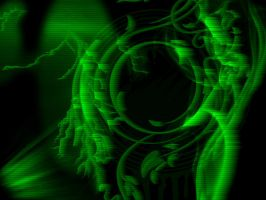 my design through nightvision by cytherina