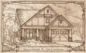 House in Greenville, SC Under Construction by Built4ever