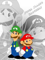 Super Mario Brothers by AlienHeadBoy