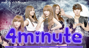 4Minute Wallpaper by MiAmoure