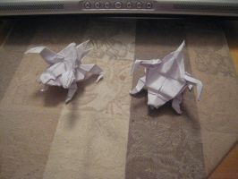 Zergling Prototypes by derikvyreflame