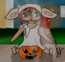 Where Did My Candy Go? :Halloween Surprise Trade: by IvyDevi