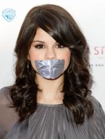 Selena Gomez duct tape gagged pt. 2 by ikell