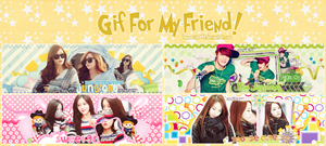 [PACK COVER #4] GIF FOR MY FRIEND! by bonsociu009
