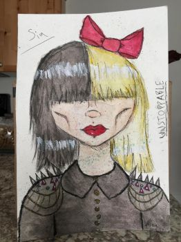 Sia: Unstoppable by FoxTails2000