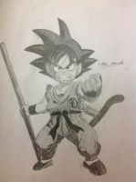 Kid goku by fakhri821999