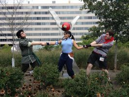 LoK: Fight Over Korra by westen182