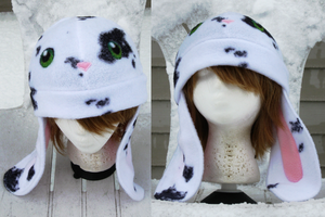 Spotted Bunny Hat by clearkid