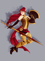 Pyrrha by pacifistEvil