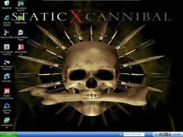 Static-X Cannibal Desktop by Sheikahchica