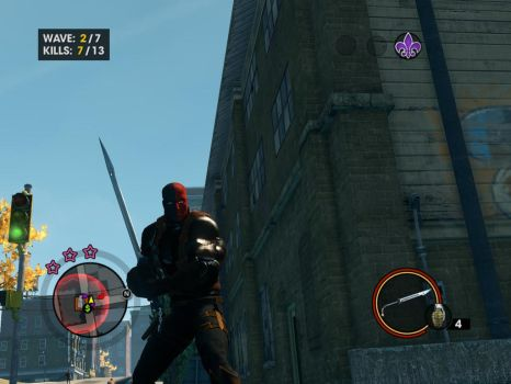 My Saint's Row 3 Deathstroke :333333 by WardenoftheIronLegio
