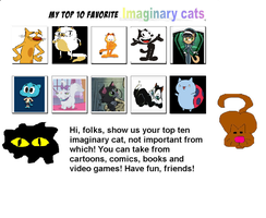 My Top 10 Favorite Cats by Toongirl18