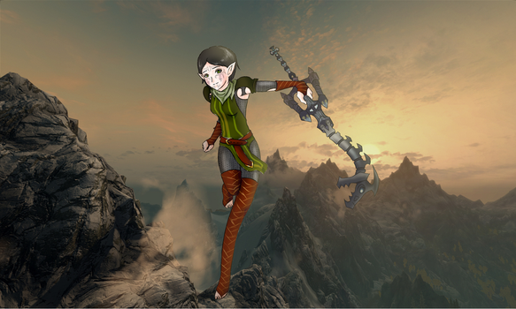 Merrill and the fatal crest by CookiiMii