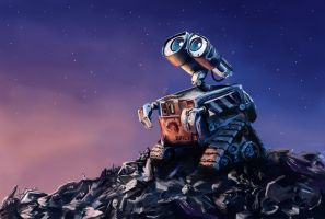 Wall-E by TryingDrawingG