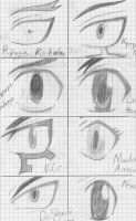Beyblade Eyes sketch by Deaht-Soul