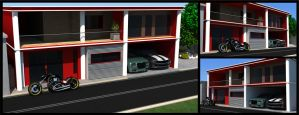 Architecture Design by Dmaghar