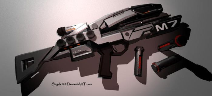 Mass Effect Assault Rifle by stryda429