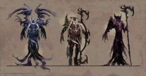NecroClass Concepts by Isorose