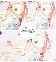 3.action-psd by xFluffyBunnyx