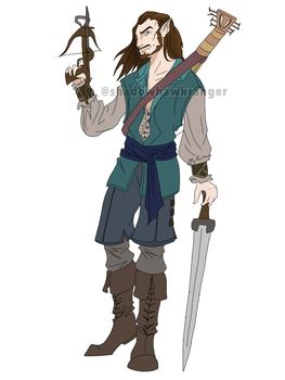Cruril Swordjoy - Commission by ShadowHawkRanger