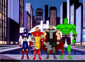 Avengers of Justice by SplendorEnt