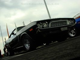 black.72.challenger by AmericanMuscle