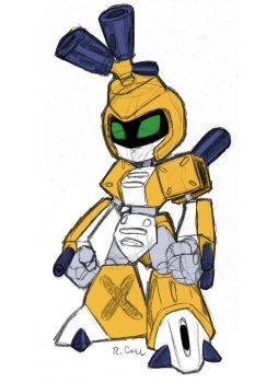 MetaBee sketch by rongs1234