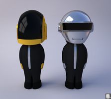 Daft Punk by Pixelgeezer