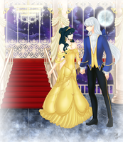 Beauty and the Beast by vainia