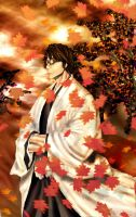 Bleach 2 - aizen by evangelion-2100