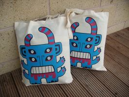 Stomper Bags Gone by creaturekebab
