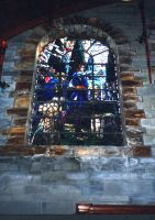 Stained Glass Window 2 by gmtb-stock