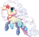 Ariel the Cloud-Tail Pony by Miss-Sting