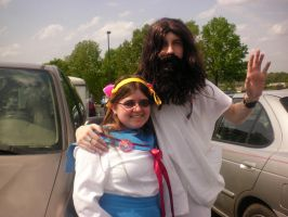 Me and Jesus by Conker-T-Squirrell