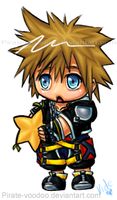 Yummy Sora Chibi by Pirate-Voodoo